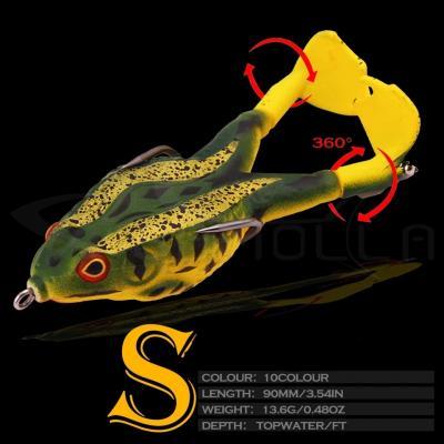 Sahte Kurbağa, Balık Yemi Rapala, Lures Turna Sahte Yem Rapala,ff42