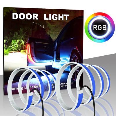 Araç Kapı Uyarı Ledi Kapıiçi Led Çift Fonksiyon Özellik RGB+Kırmızı Beyaz