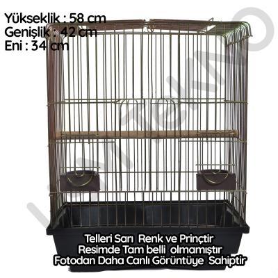 Papağan Kafesi Sultan Papağanı Kafes Eğitim Kafes.Pirinç Kafes