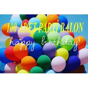 100 Adet 14 inch. Doğum Günü Parti Süsleri Açılış Balonu Büyükboy