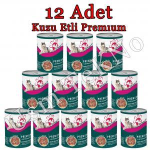 Ephesus as 415 gr x 12 Adet Kuzu Etli Premium Köpek Konservesi, Yaş Mama
