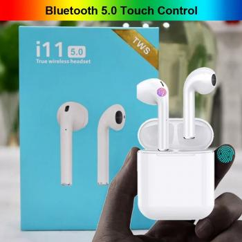 Bluetooth Kulaklık 5.0  İ11 Tws  Kulaklık Mikrofonlu 5.0 Tws Kablosuz Kulaklık