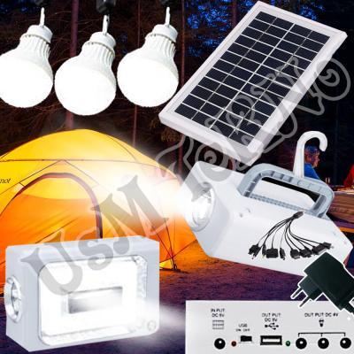 Güneş Paneli Solar Led Kamp Lambası Güneş Enerjili Işıldak Kamp Feneri Led fener