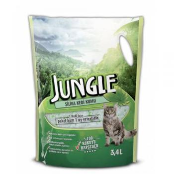 Jungle Kristal Silika Kedi Kumu 3.4 lt