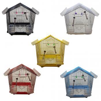 Muhabbet Kuşu Kafesi Ev Modelli Kafes  Kanarya Kafesi Hin Bülbülü Kafesi Kuş Kafesi L6