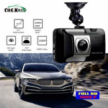 Usmtekno Araç İçi Kamera 1080.p HD Gece Görüşlü 32 Gb. Destek
