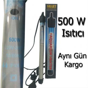 Smart 500 W. Termostatlı Akvaryum Isıtıcı 16 C ile 32 C arası