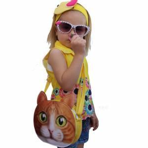 3D 3 Boyutlu Çanta Çocuk ve Genç Kız Sırt Omuz Çantası