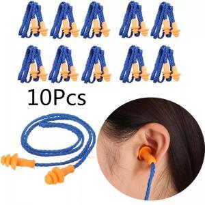 Kulak Tıkacı 10 Adet Yüzme Sporları Su Geçirmez Slikon Tıkaç