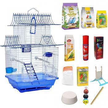 Set Muhabbet Kuşu Kafesi, Ev Modelli Kafes , Kanarya Kafesi, Hin Bülbülü Kafesi, Kuş Kafesi,