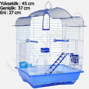 Muhabbet Kuşu Kafesi, Ev Modelli Kafes,2 , Kanarya Kafesi, Hin Bülbülü Kafesi, Kuş Kafesi,d02