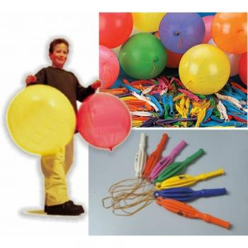 Panço Balon. 100 Ad. Atom Panço Balon Punch Balon.İpli Balon