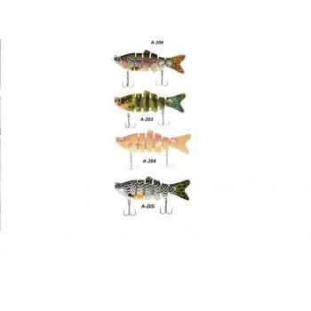 Rapala Sahte Balık Yemi Lures Yeni Model Turna Sahte Yapay Yem