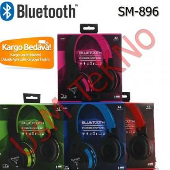 SM-896 Bluetooth Kulaklık,MP3 Çalar